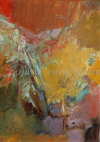 Painting--Oil-AbstractInternal Landscape III