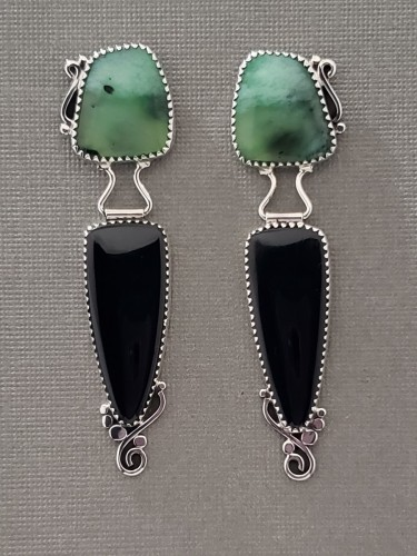 Chrysoprase, Black Jade