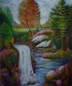 Landscape #2 -acrylic on canvas 1994 (thumbnail)