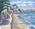 Down Mexico Way -acrylic on canvas board (thumbnail)
