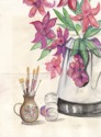 Flowers and Paintbrushes (thumbnail)