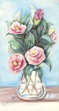 Carnations -watercolors on paper (thumbnail)