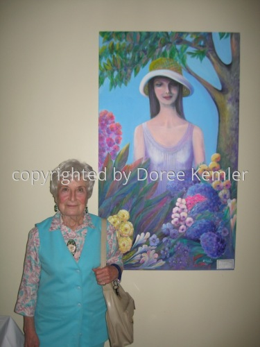 2 Doree Kemler exhibiting Suzanne at 20