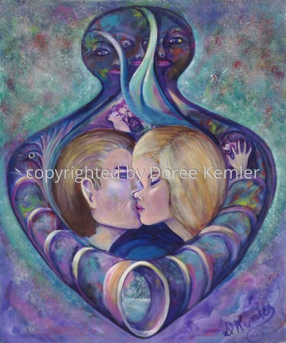 Perfume #3 -acrylic on canvas