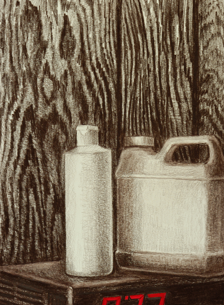 White Plastic Bottles - Modern Life (large view)