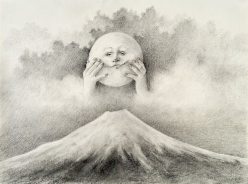 Great Sun Fuji by Dorette Amell