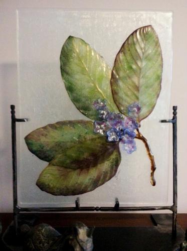 Palm Leaf Panel