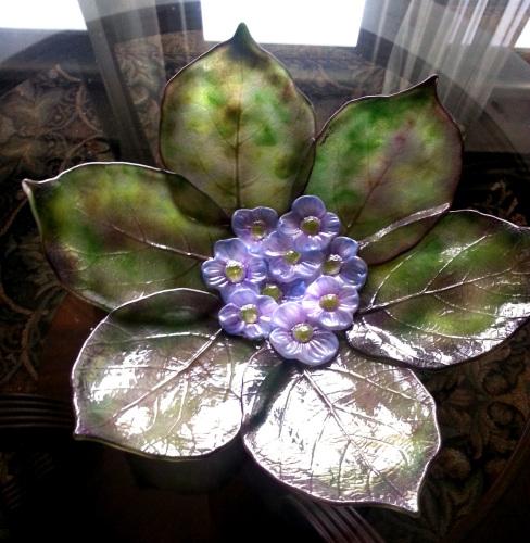 Leaf & Flower Platter