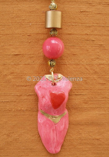 Necklace Girlfriend Goddesses® OOAK  Goddess with a Heart