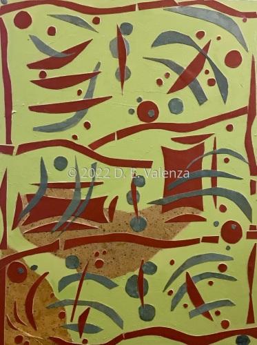 Axis Mundi by Doreen E. Valenza, American Artist