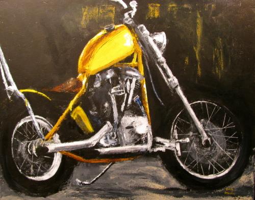 Yellow Shovelhead