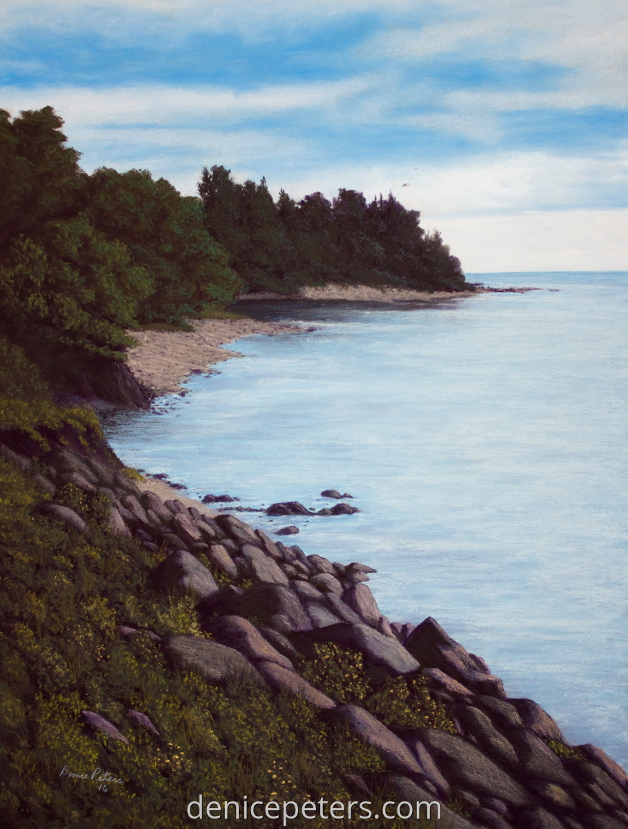 Lake Superior Shore (large view)