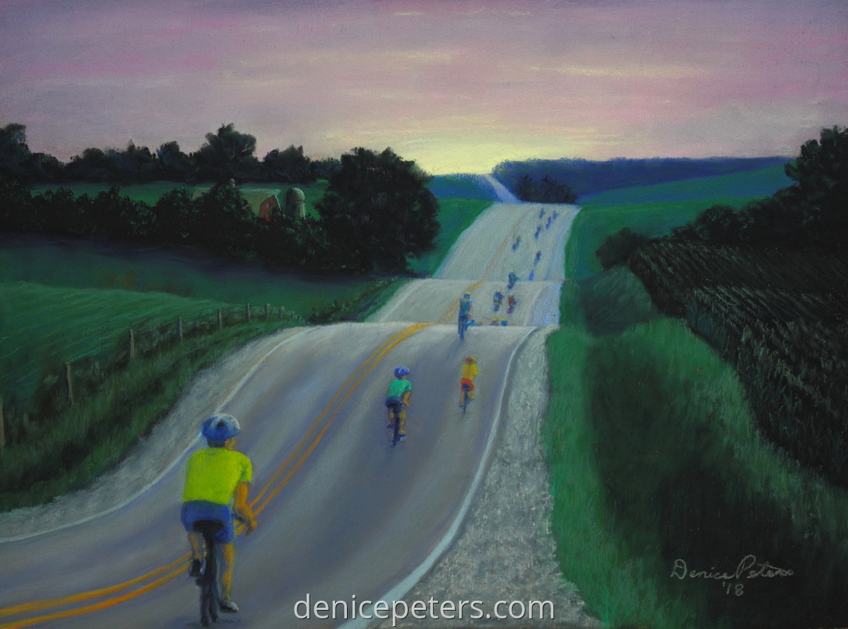 Bike Ride at Dawn (large view)
