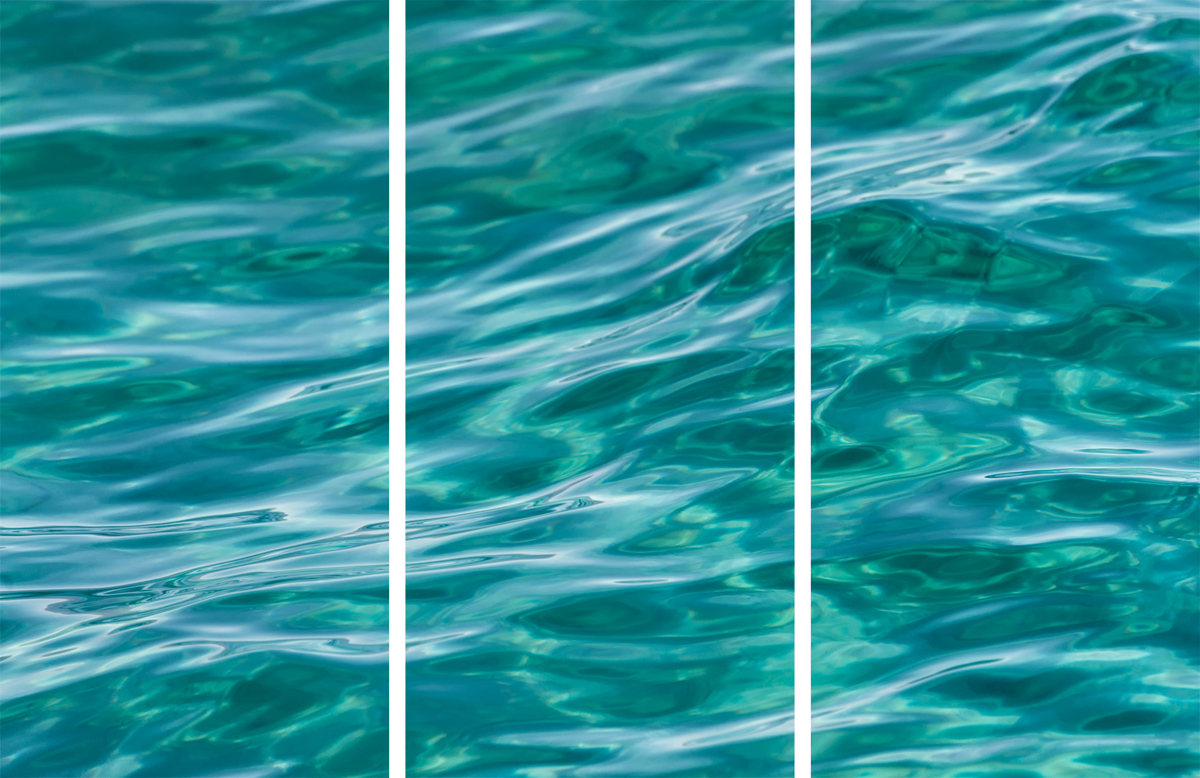 On the Lake - Triptych (large view)
