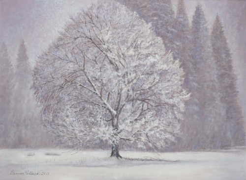 Winter Tree by Denise Pollack