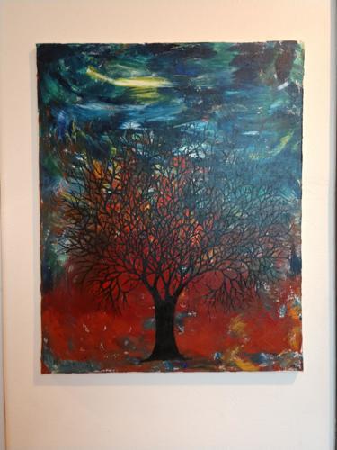 Wild Fire Tree