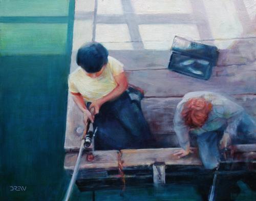Pier Fishers by Drew Keilback