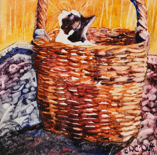 Alice in a Basket