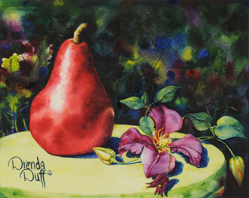 Clematis and Pear