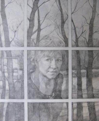 Through Glass by Drenda Duff Fine Art