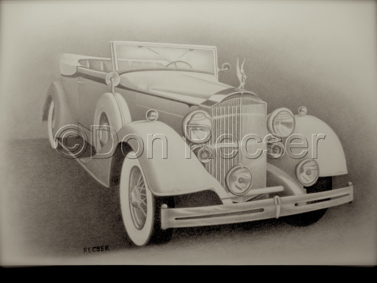 1934 Packard Victoria Convertible (large view)