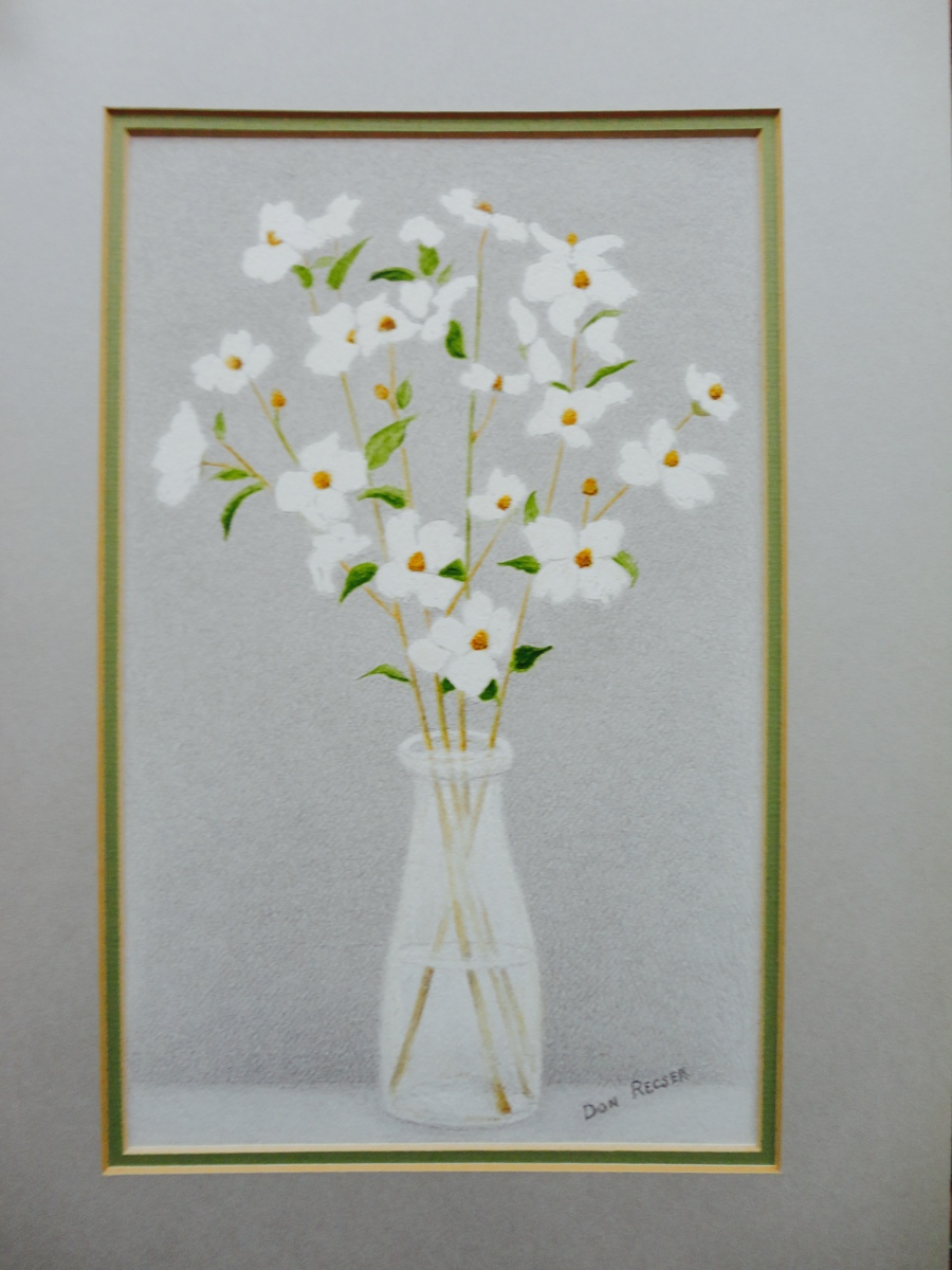 Milk Bottle Bouquet (large view)