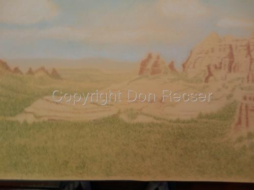 Sedona Arizona Work in Progress 1   (large view)