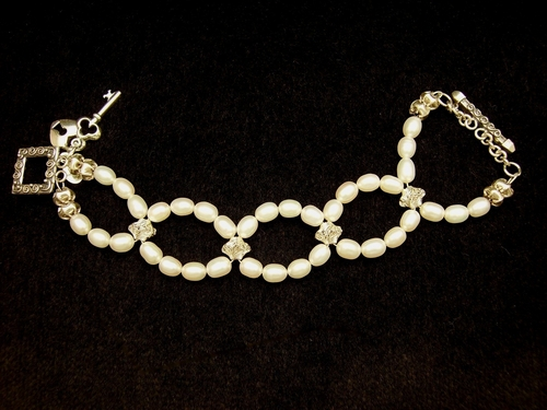 Purity Pearl Bracelet #1