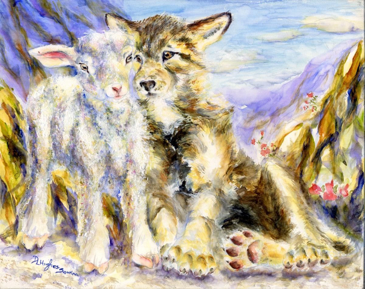 Wolf and Lamb (large view)