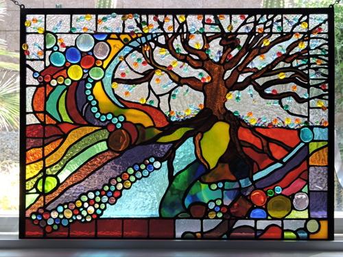 The Tree of Life by DEBRA SENEY-CLOUSTON FINE ART GALLERY