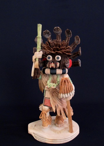 Chaveyo Ogre ( 1st Place in Contemporary Pueblo Wooden Carvings Heard Museum Indian Martket 2021)