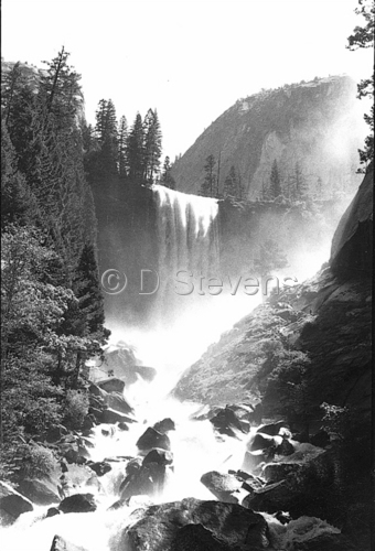 DsVision-America: Vernal Falls - Yosemite Valley