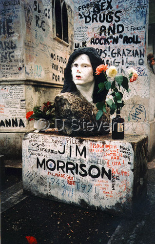 DsVision-America: Jim Morrison's Grave/Paris LIMITED EDITION 7/100