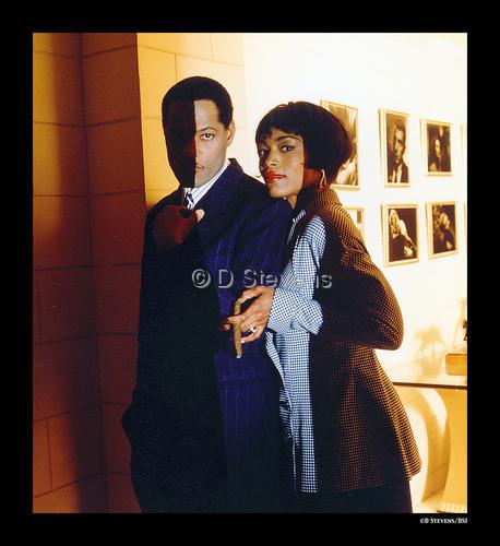 DsVision-Actors: Lawrence Fishburne & Angele Bassett/Oscar Nominated 1993