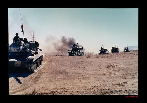 DsVision - Gulf War crossing into Iraq
