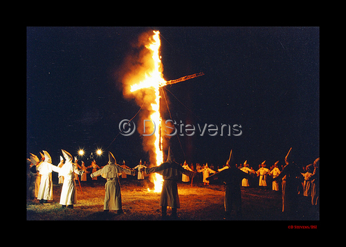 DsVisions America - KKK Cross Burning