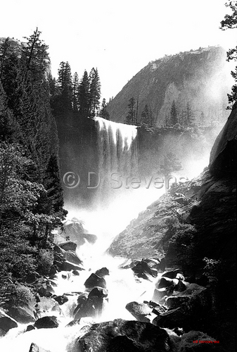 DsVision-America: Yosemite Valley - Vernal Falls