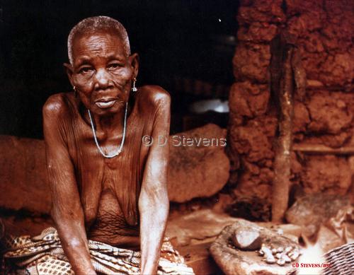 DsVision-World: Drought/Woman in Haiti