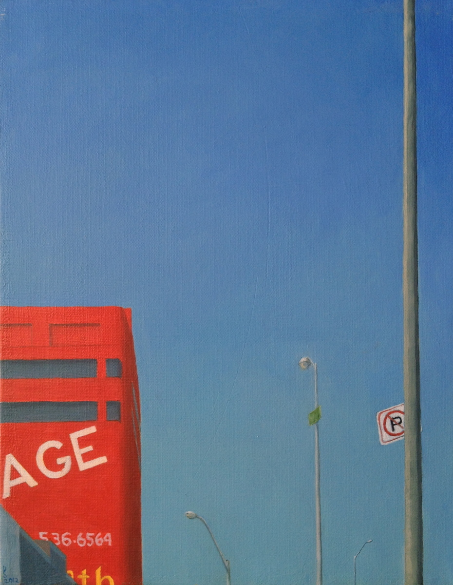 Storage - oil on canvas (large view)