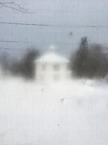 2.15 Bitter cold frosted winter white house by Deborah Stevenson