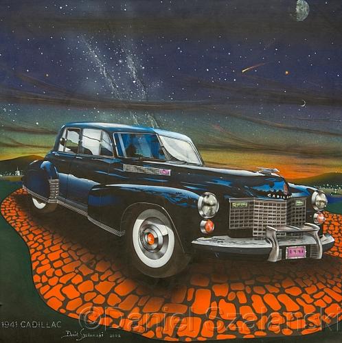 1941 Cadillac by Daniel Szalanski