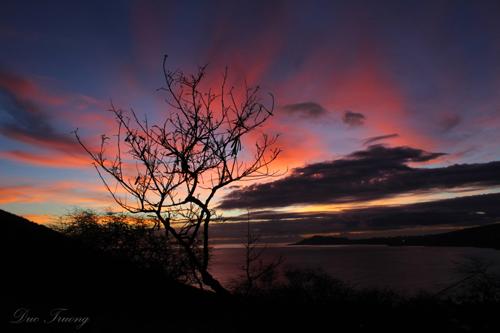 Sunset Skies towards Diamondhead