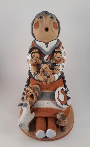 Navajo storyteller by Emily Tsosie