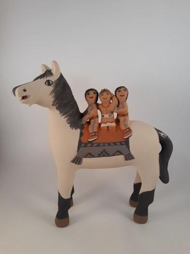 Horse Storyteller By Leonard Tsosie