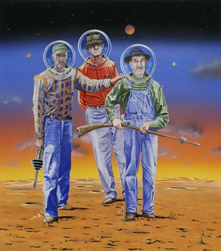 Hillbillies From Mars