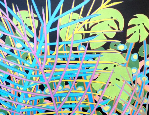 Jungle Vibrations 25 30x40 by Tomaso DiTomaso