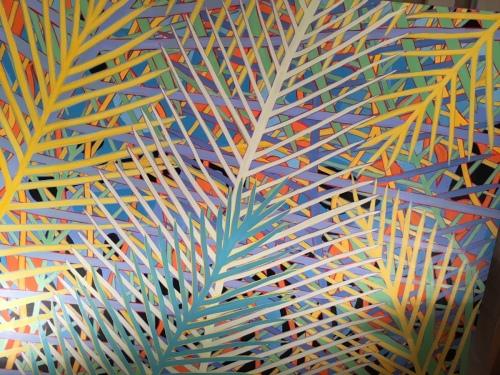 Big Tropics Three 60x72