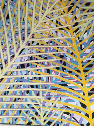 Big Tropics Four 48x48 by Tomaso DiTomaso