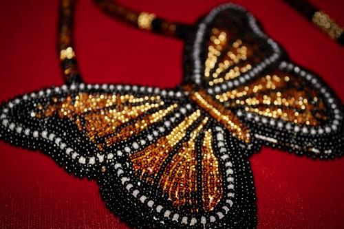 Golden Butterfly Medallion