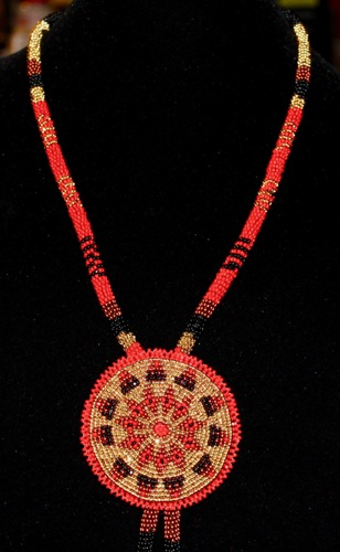 Red Diamonds (Bolo) by Deana Ward